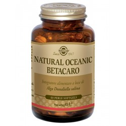 NATURAL OCEANIC BETA CARO SOLGAR 60 PERLE SOFT GEL