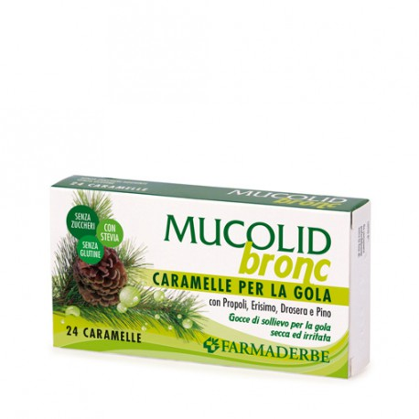 MUCOLID BRONC 24 CARAMELLE - FARMADERBE -