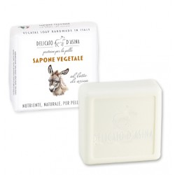 SAPONE VEGETALE AL LATTE D'ASINA - LA DISPENSA -