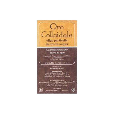 ORO COLLOIDALE ATENA 100 ML