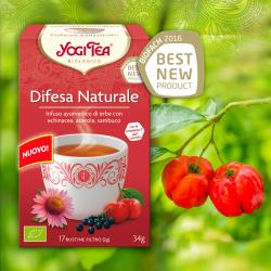 DIFESA NATURALE FILTRI - YOGI TEA -