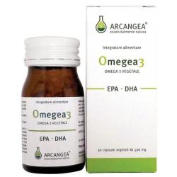 OMEGEA3 30CP 500MG INTEGRATORE A BASE DI EPA ,DHA DI ORIGINE ALGALE ARCANGEA