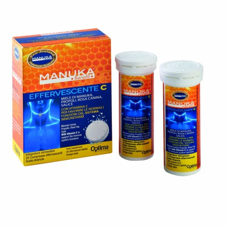 MANUKA BENEFIT EFFERVESCENTE C - OPTIMA -