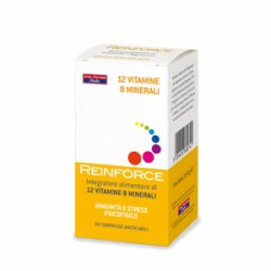 REINFORCE 12 VITAMINE + 8 MINERALI - FARMADERBE - VITAL FACTOR -
