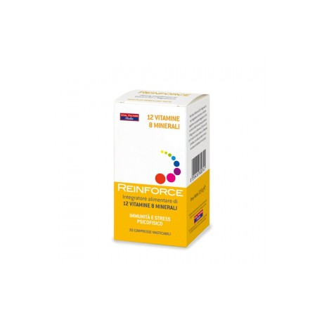 REINFORCE 12 VITAMINE + 8 MINERALI - FARMADERBE - VITAL FACTOR -