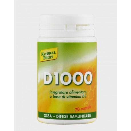 D 1000 VITAMINA D - NATURAL POINT -