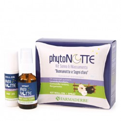 KIT PHYTO NOTTE ROLL ON E SPRAY - FARMADERBE -