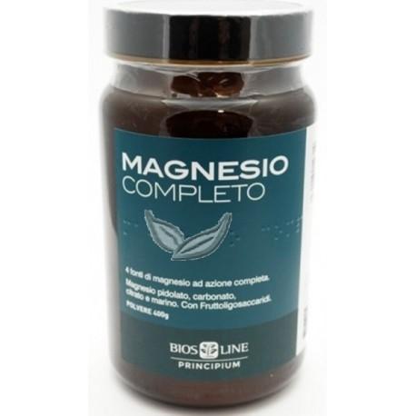 MAGNESIO COMPLETO POLVERE 400 gr - BIOS LINE -