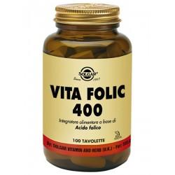 VITA FOLIC 400 SOLGAR 100 TAVOLETTE