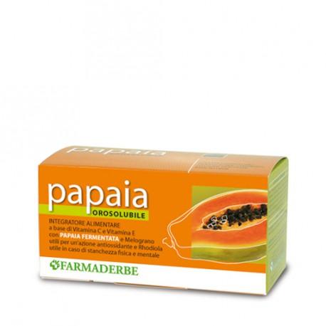 PAPAIA FERMENTATA OROSOLUBILE - FARMADERBE -