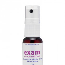EXAM CONCENTRATION SPRAY FIORI DI BACH - HEALING HERBS -
