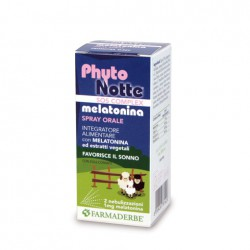 PHYTO NOTTE MELATONINA SPRAY - FARMADERBE -
