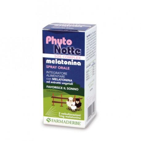 PHYTO NOTTE MELATONINA SPRAY - FARMADERBE -