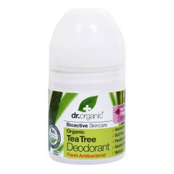 ORGANIC TEA TREE DEODORANT ROLL ON - DR. ORGANIC -