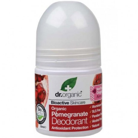 DEODORANTE ROLL ON ALLA MELAGRANA - DR.ORGANIC -