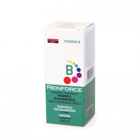 REINFORCE VITAMINE B 100 ML - VITAL FACTORS-