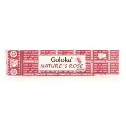INCENSO NATURE'S ROSA - GOLOKA -
