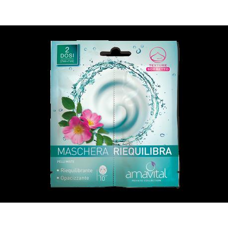 MASCHERA VISO RIEQUILIBRIA - AMAVITAL OFICINE CLEMAN -