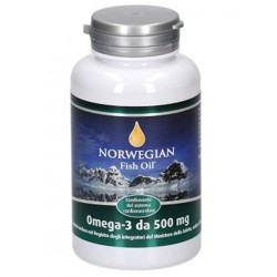NORVEGIAN FISH OIL INTEGRATORE OMEGA 3 IN PERLE - NORVEGIAN FISH OIL -