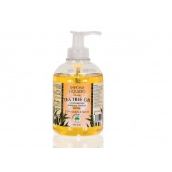 SAPONE LIQUIDO CON TEA TREE OIL - LA DISPENSA -