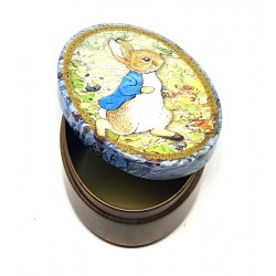 SCATOLINA IN LATTA PETER RABBIT