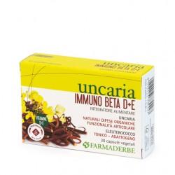 UNCARIA IMMUNO BETA D+E - FARMADERBE -
