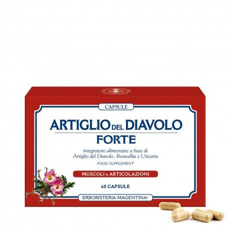 ARTIGLIO DEL DIAVOLO FORTE CAPSULE - ERBORISTERIA MAGENTINA -