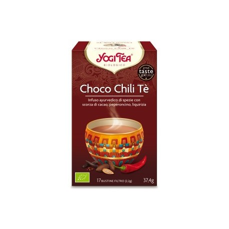 YOGI TEA - CHOCO CHILI TE' - biologico