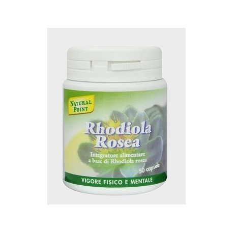 RHODIOLA ROSEA 50 CAPSULE - NATURAL POINT -