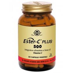 ESTER C PLUS 500 SOLGAR 50 CAPSULE VEGETALI