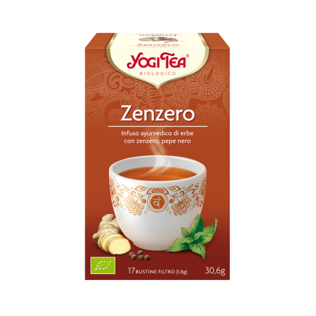 YOGI TEA ZENZERO biologico