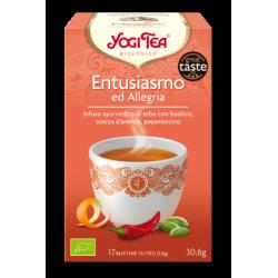 ENTUSIASMO E ALLEGRIA YOGI TEA