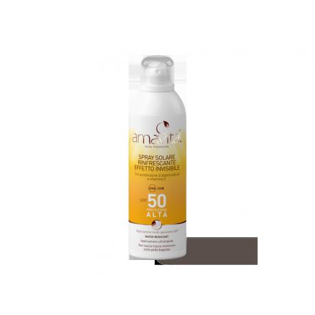 AMAVITAL SUN PASSION SPRAY SOLARE RINFRESCANTE SPF50 150 ML - OFICINE CLEMAN