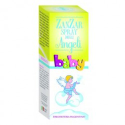 ZAN ZAR ANTIZANZARE BABY SPRAY DEGLI ANGELI - ERBORISTERIA MAGENTINA -
