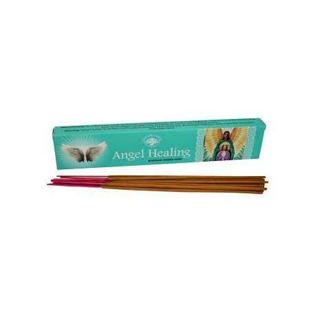 NGEL HEALING MASALA STICK INCENSI - GREEN TREE BIOLUCE -